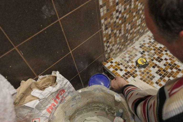 укладка плитки, плиточные работы, ремонт ванной, ремонт в ванной